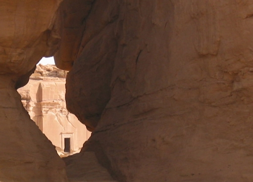 Window in History, Maden Saleh, Saudi Arabia